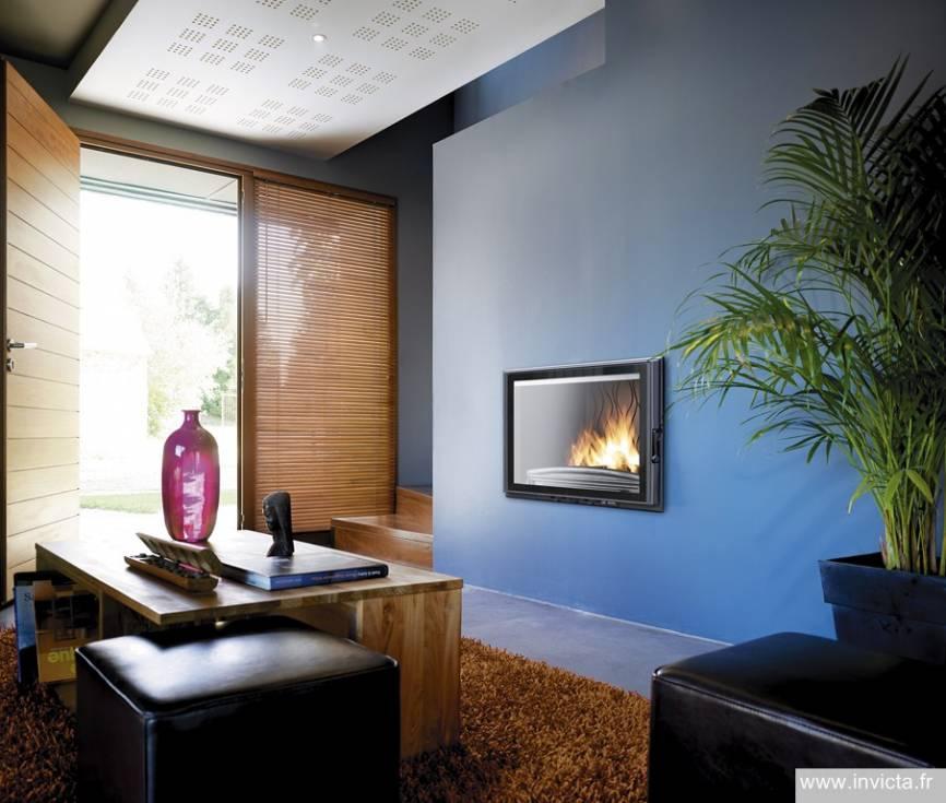 Grand Foyer Insert : Achat foyers et inserts pour cheminées à marseille mf
